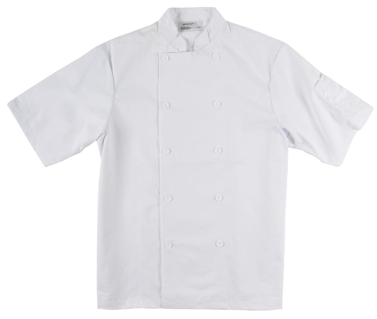 Picture of Premium Uniforms Short Sleeve Econo Chef Coat