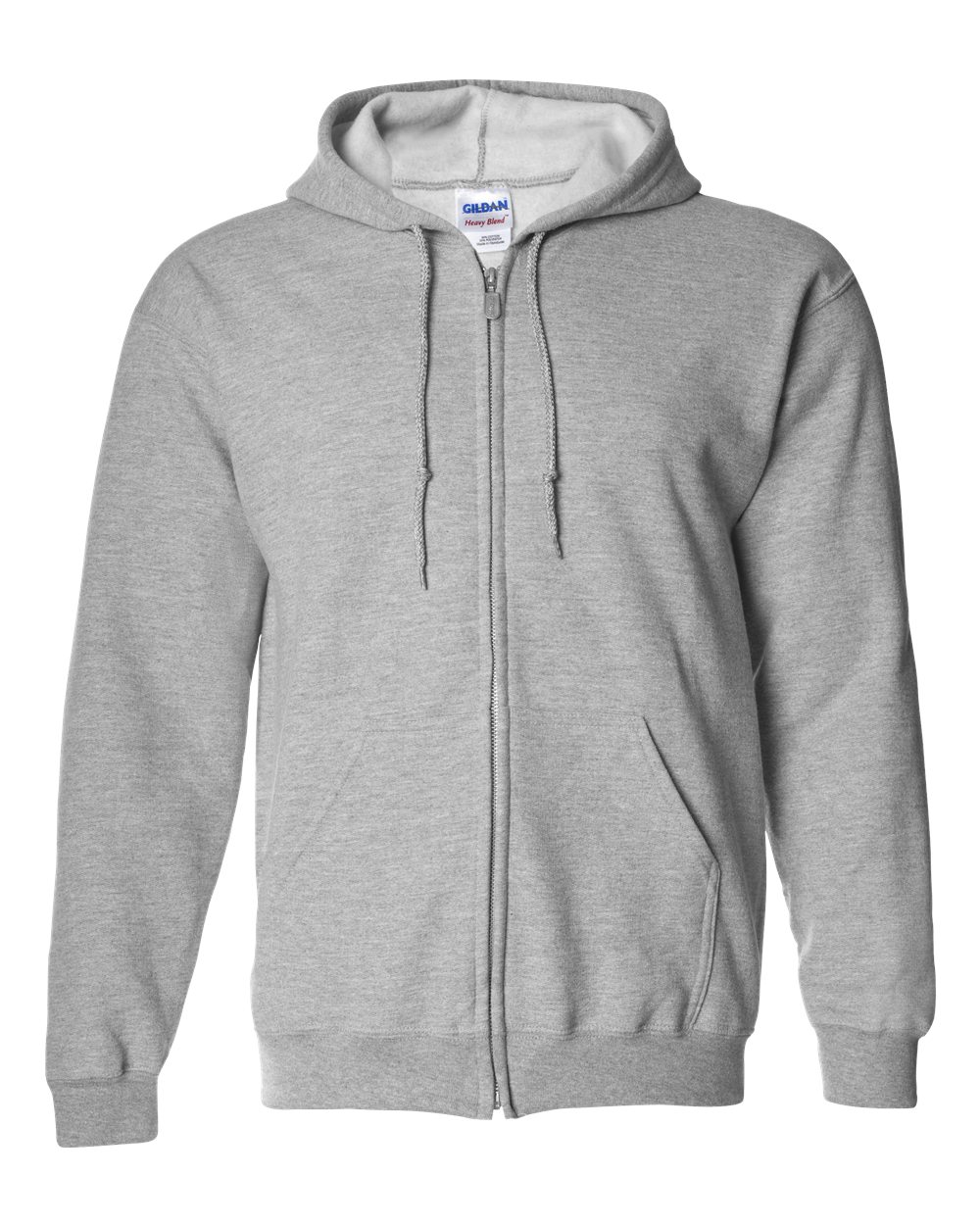 Picture of Gildan Heavyweight Blend Adult Full Zip Hooded Sweatshirt