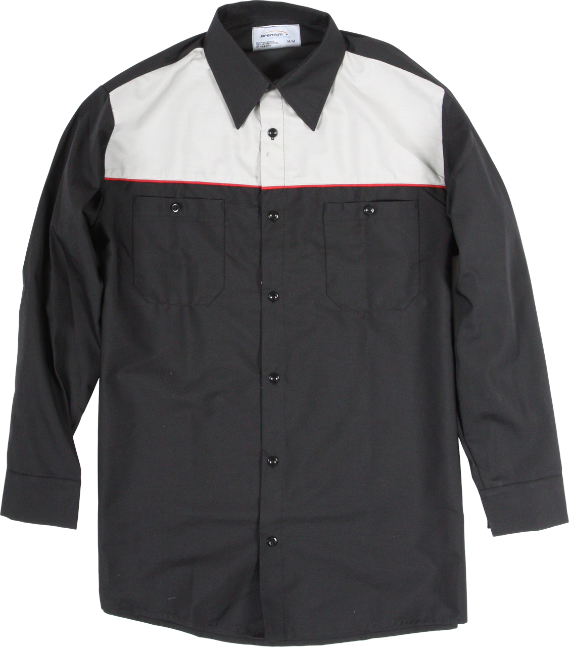 Picture of Premium Uniforms Long Sleeve Two-Tone Work Shirt