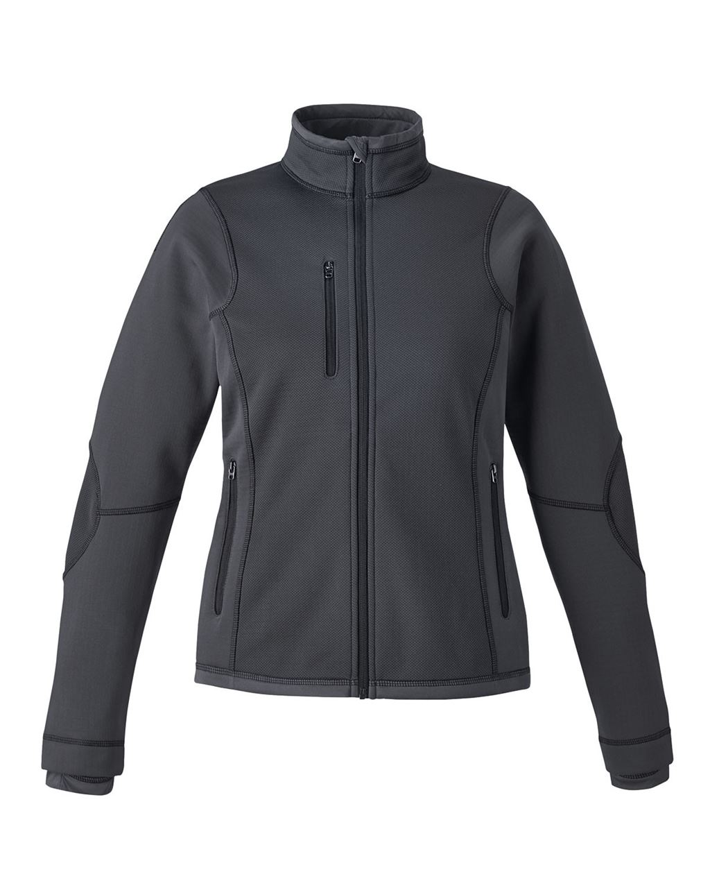 Picture of North End Pulse Ladies Bonded Fleece Jacket With Print