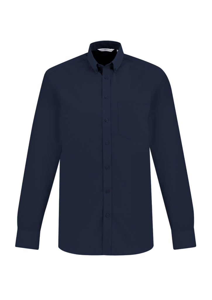 Picture of Biz Collection Men's Metro Long Sleeve Shirt