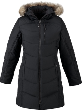 Picture of Ash City Boreal Ladies Down Jacket With Faux Fur Trim