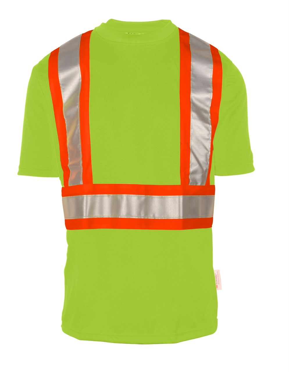 Picture of Sumaggo High Visibility Wicking Shirt With Contrasting Color Stripes
