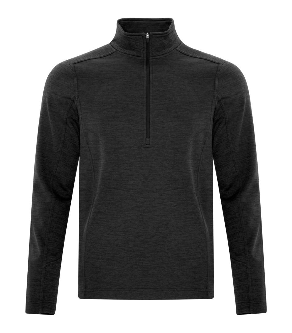 Picture of ATC Dynamic Heather Fleece 1/2 Zip Sweatshirt