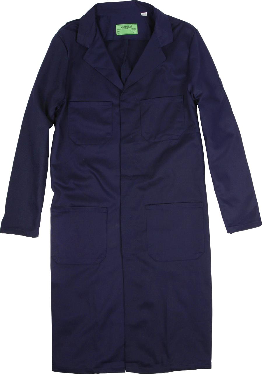 Picture of Premium Uniforms Cotton Shop Coat With 4-Pockets