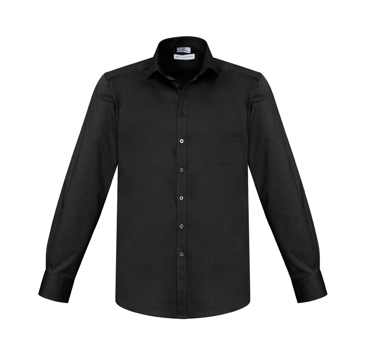 Picture of Biz Collection Mens Monaco Long Sleeve Shirt