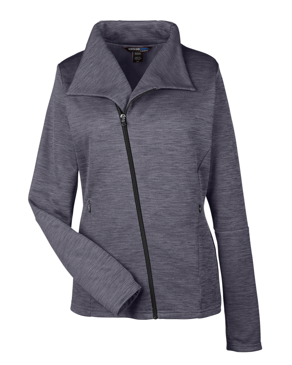 Picture of North End Ladies Amplify Melange Fleece Jacket