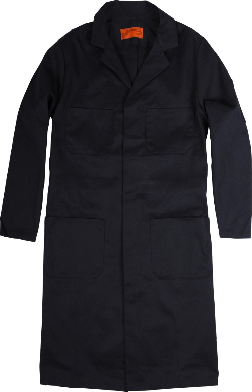 Picture of Premium Uniforms Poly Cotton Shop Coat With 4 Pockets