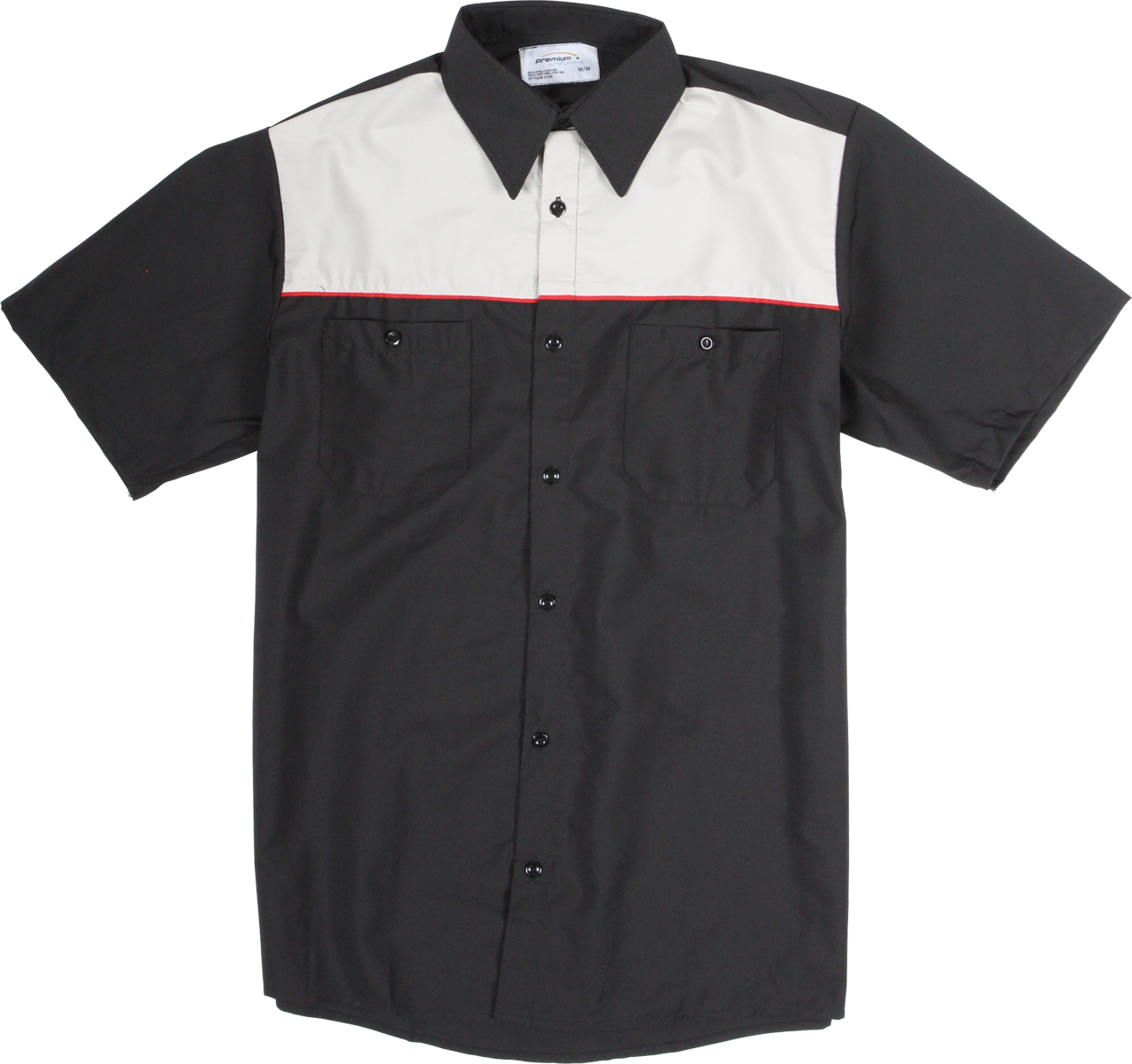 Picture of Premium Uniforms Short Sleeve Two-Tone Work Shirt