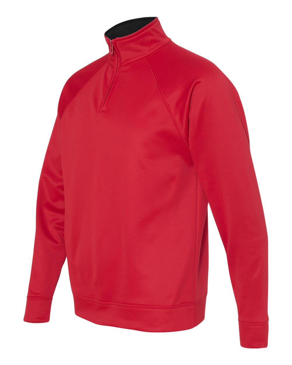 Picture of Jerzees Dri-Power Sport Quarter-Zip Cadet Collar Sweatshirt