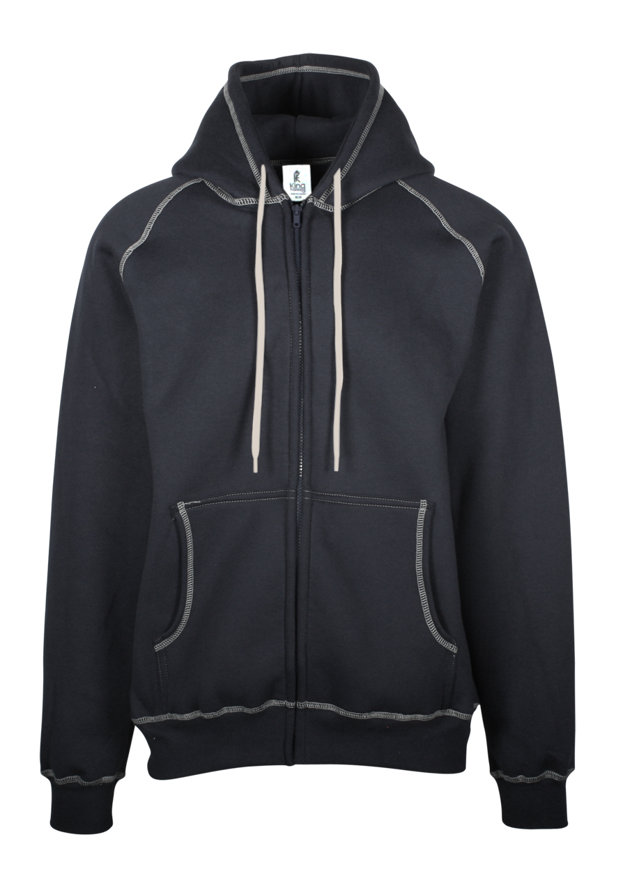 Picture of King Fashion Extra Heavy Full Zip Hooded Jacket