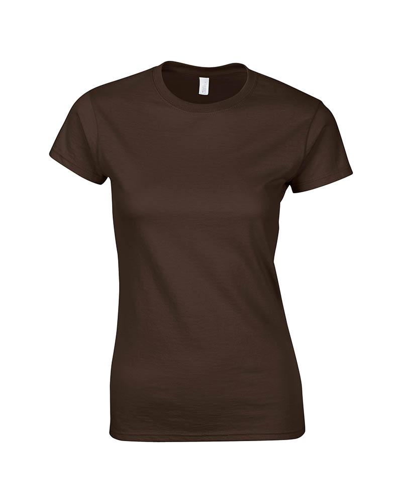 Picture of Gildan Ladies Junior Fit Cotton Pre-Shrunk Jersey T-Shirt