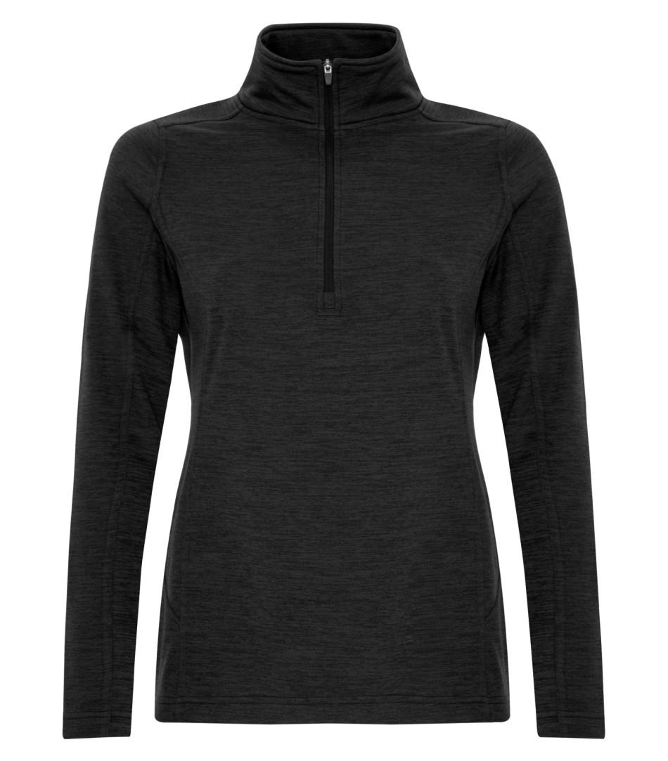 Picture of ATC Dynamic Heather Fleece 1/2 Zip Ladies Sweatshirt
