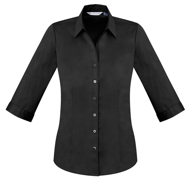 Picture of Biz Collection Ladies Metro 3/4 Sleeve Shirt