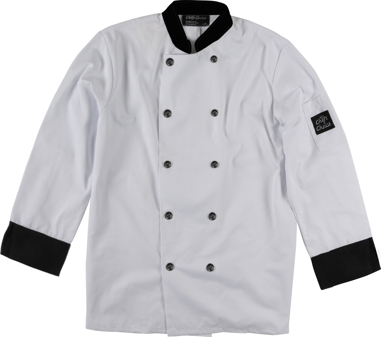 Picture of Premium Uniforms Chef Coat With Contrast Trim