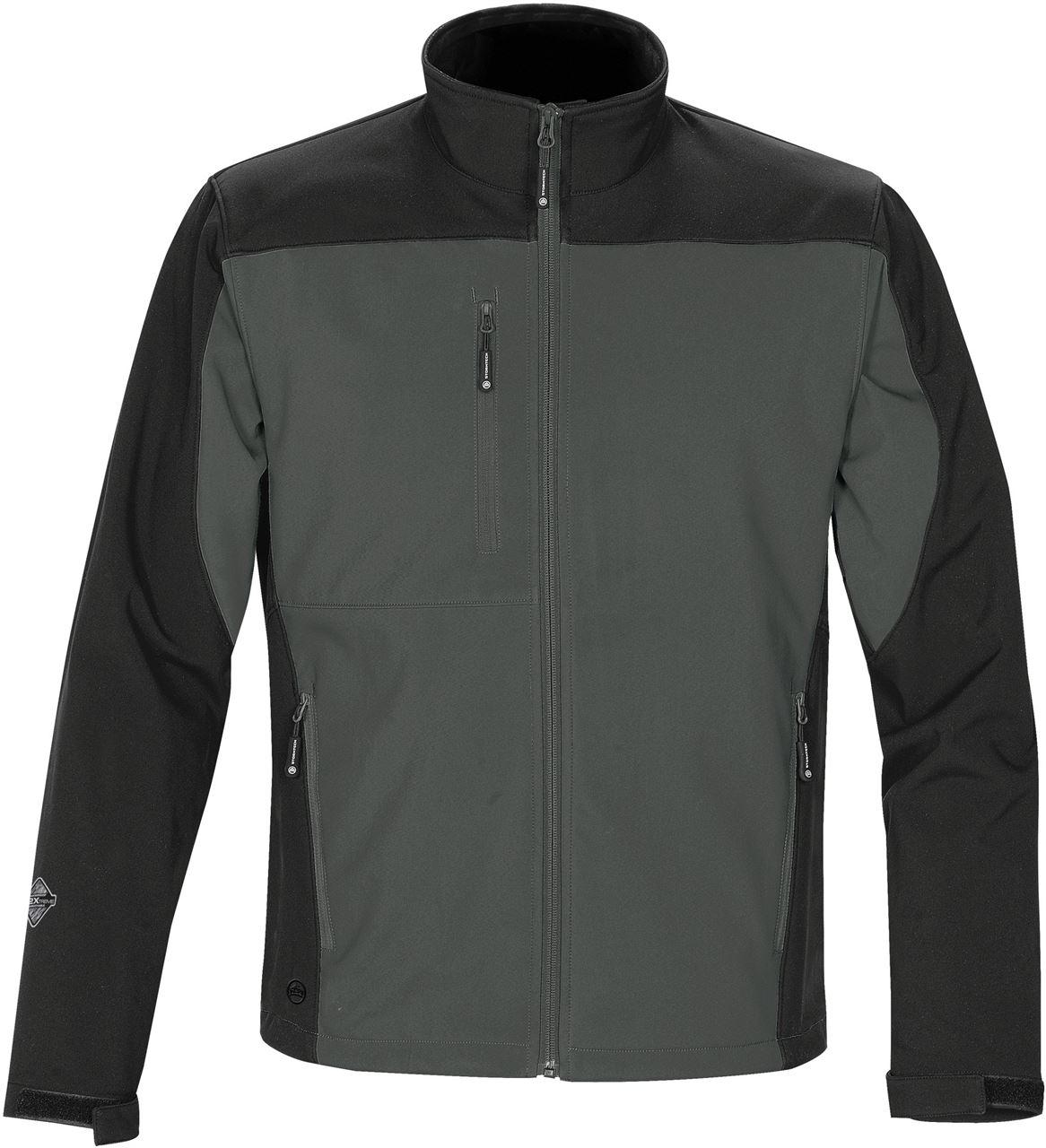 DBlade Technical Mens Softshell Jacket Black Thermal Waterproof Work Wear
