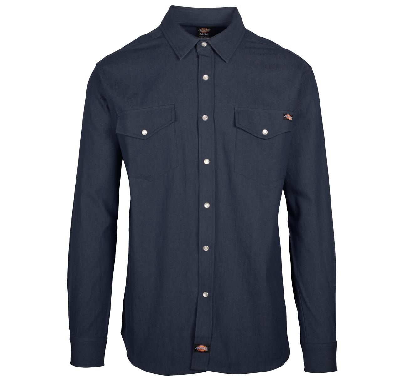 Picture of Dickies Long Sleeve Denim Shirt
