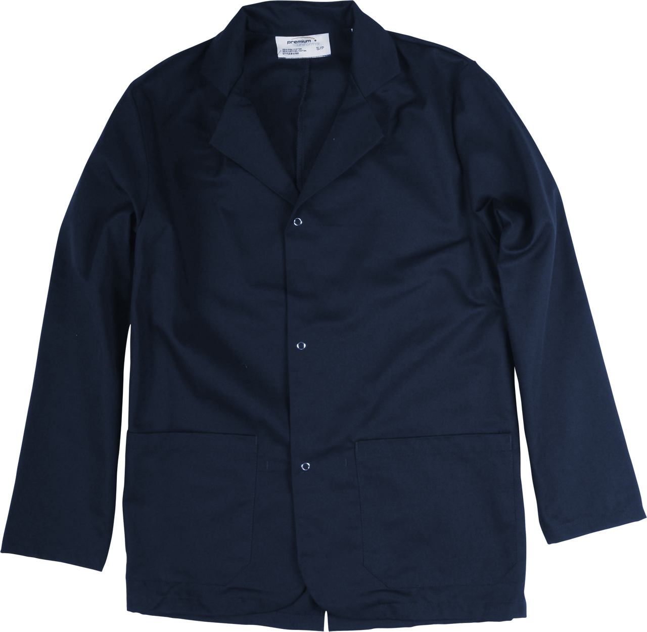 Picture of Premium Uniforms Two-Pocket Counter Coat With Snap Closure