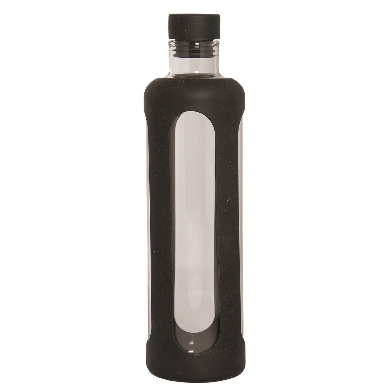 Picture of Glass Water Bottle With Silicone Sleeve