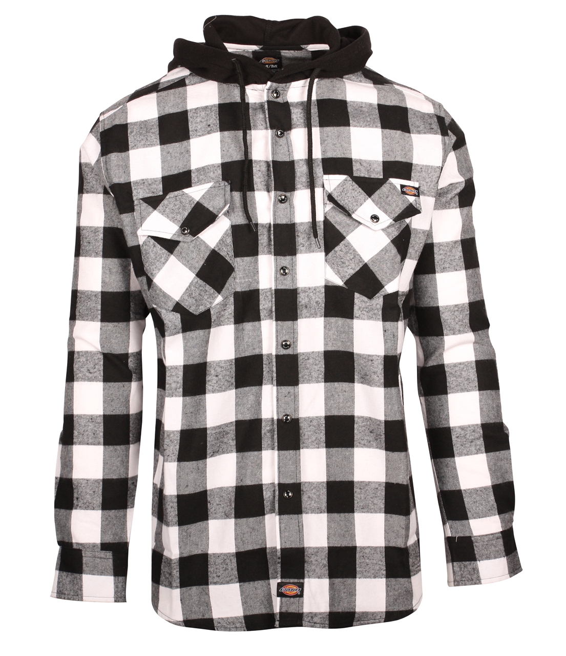 Picture of Dickies Hooded Flannel Shirt