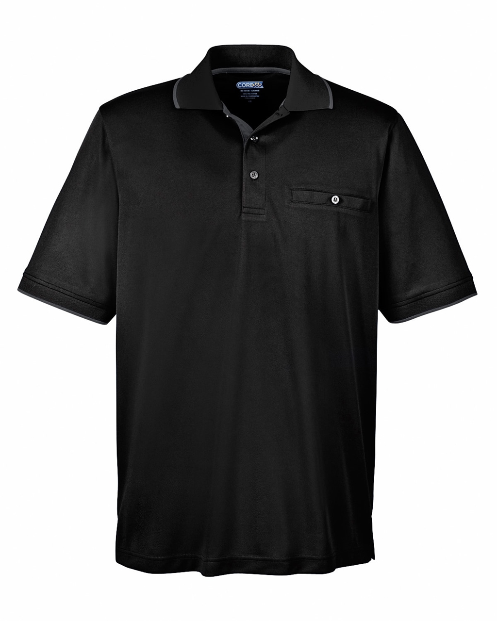 Picture of Core365 Men's Motive Performance Pique Polo With Collar