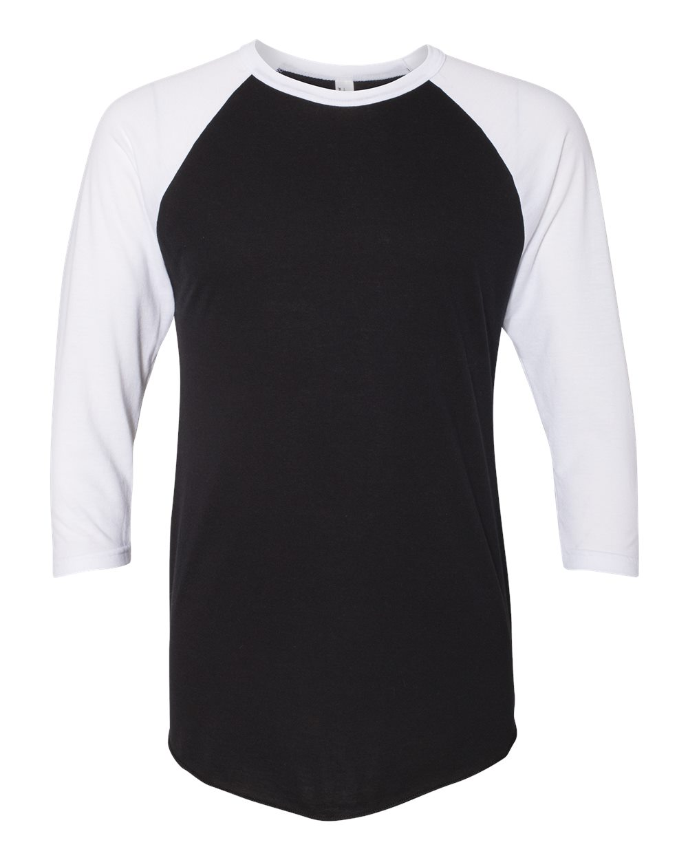 Picture of American Apparel Poly-Cotton 3/4 Sleeve Raglan Shirt