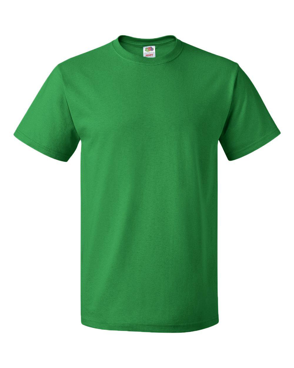 beau lustre meilleur pas cher limpide en vue Fruit Of The Loom Heavy Cotton T-Shirt