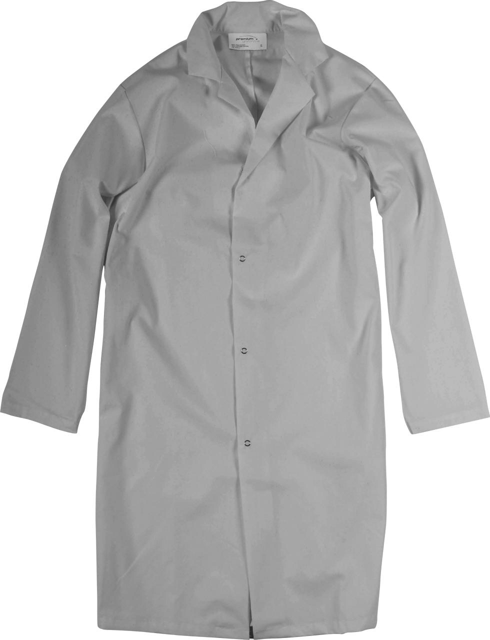 Picture of Premium Uniforms Men's Lab Coat With Snap Closure