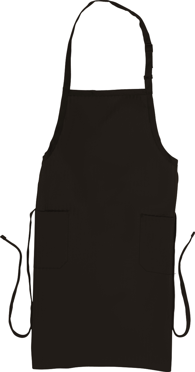 Picture of Premium Uniforms Designer Bib Apron With Pockets