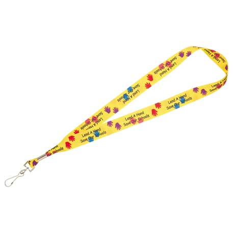 """Picture of Bullet Sublimation Lanyard - 1"""""""