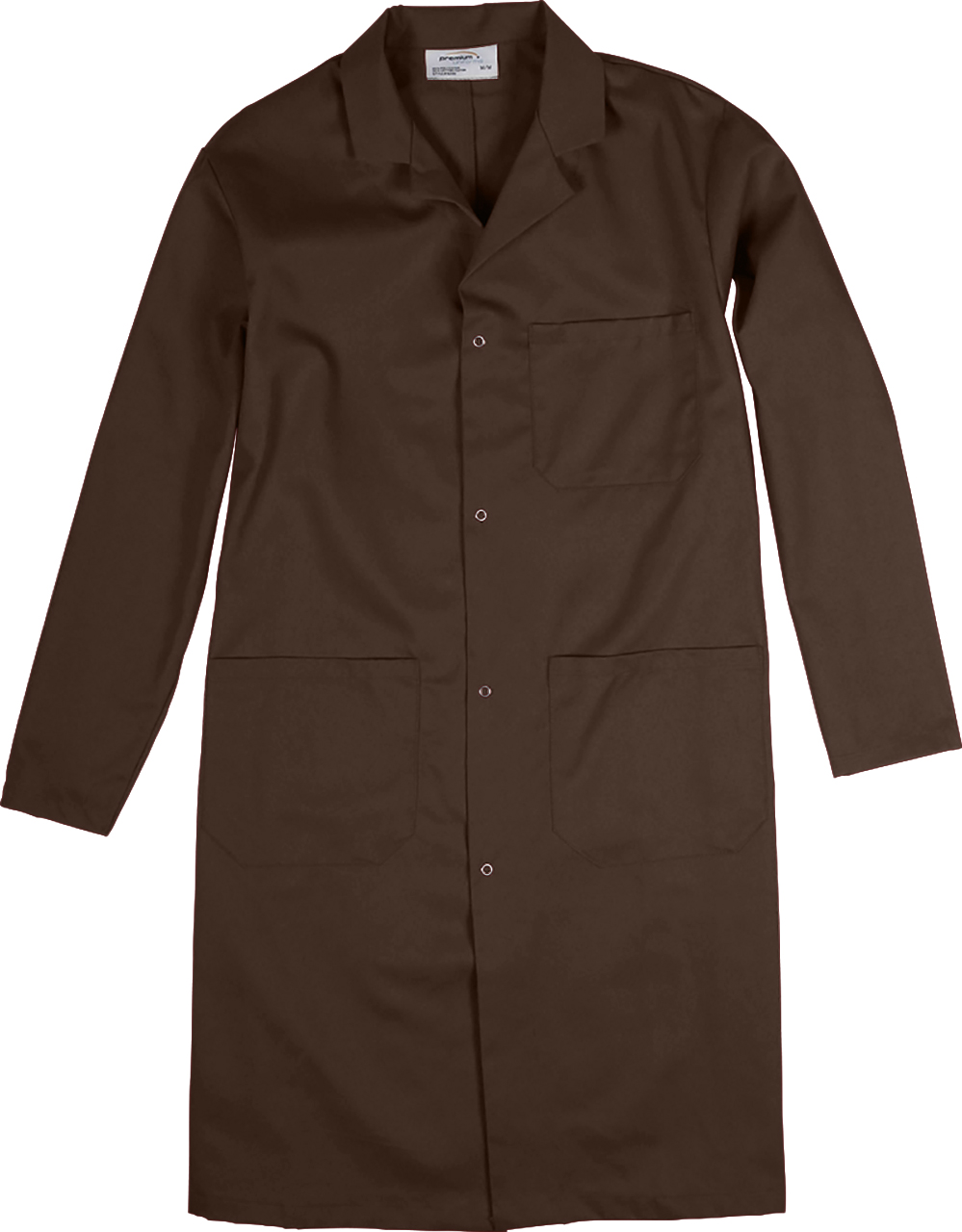 Picture of Premium Uniforms Three-Pocket Long Coat With Snap Closure