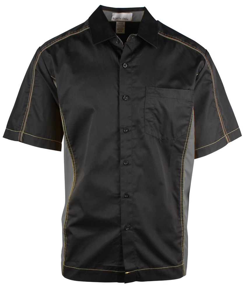 Picture of North End Men'S Fuse Colourblock Twill Shirt