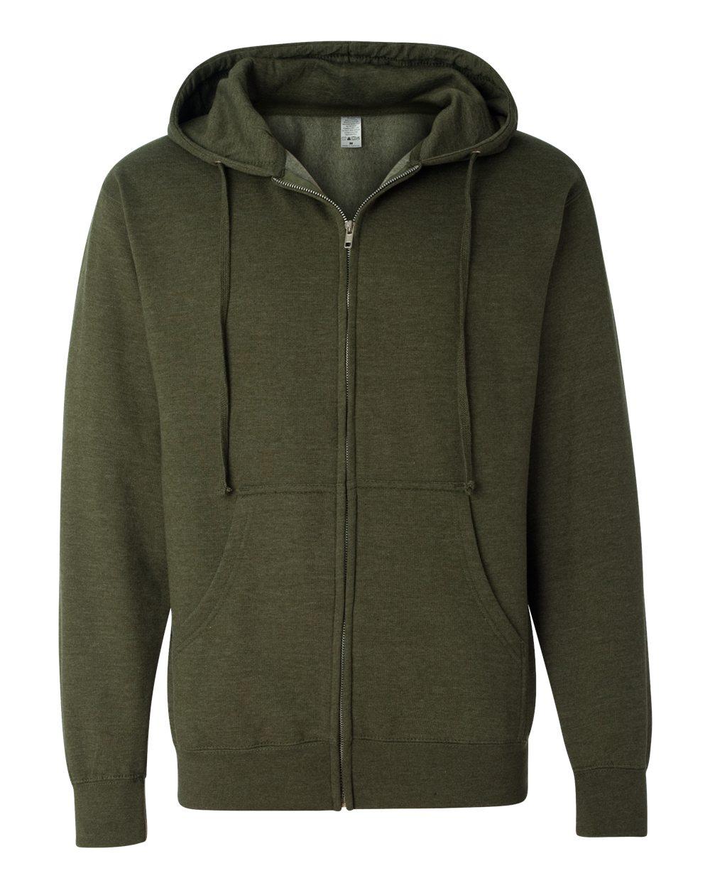 Picture of Midweight Full-Zip Hooded Sweatshirt