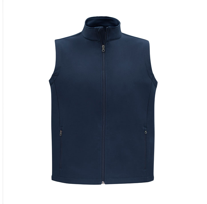 Picture of Biz Collection Apex Men's Sofshell Vest