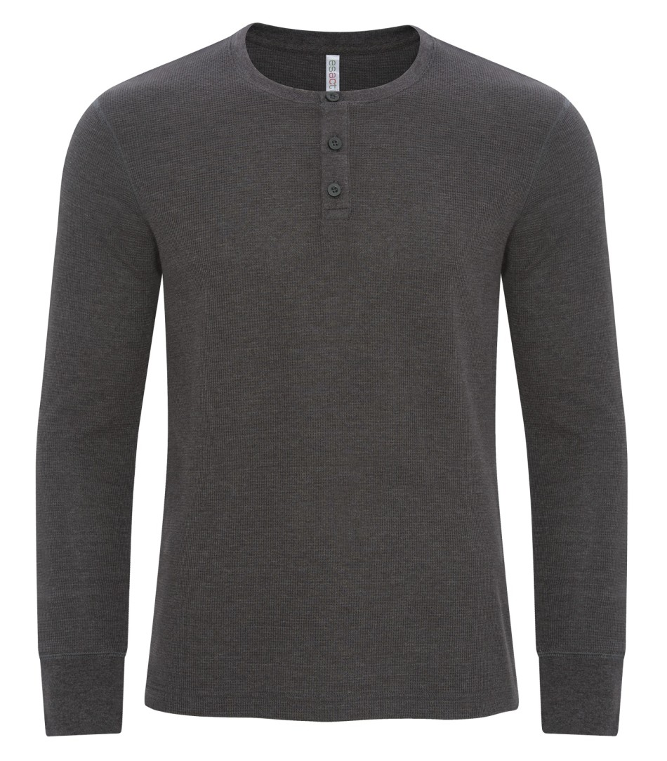 Picture of ATC ESACTIVE Vintage Thermal Long Sleeve Henley Tee