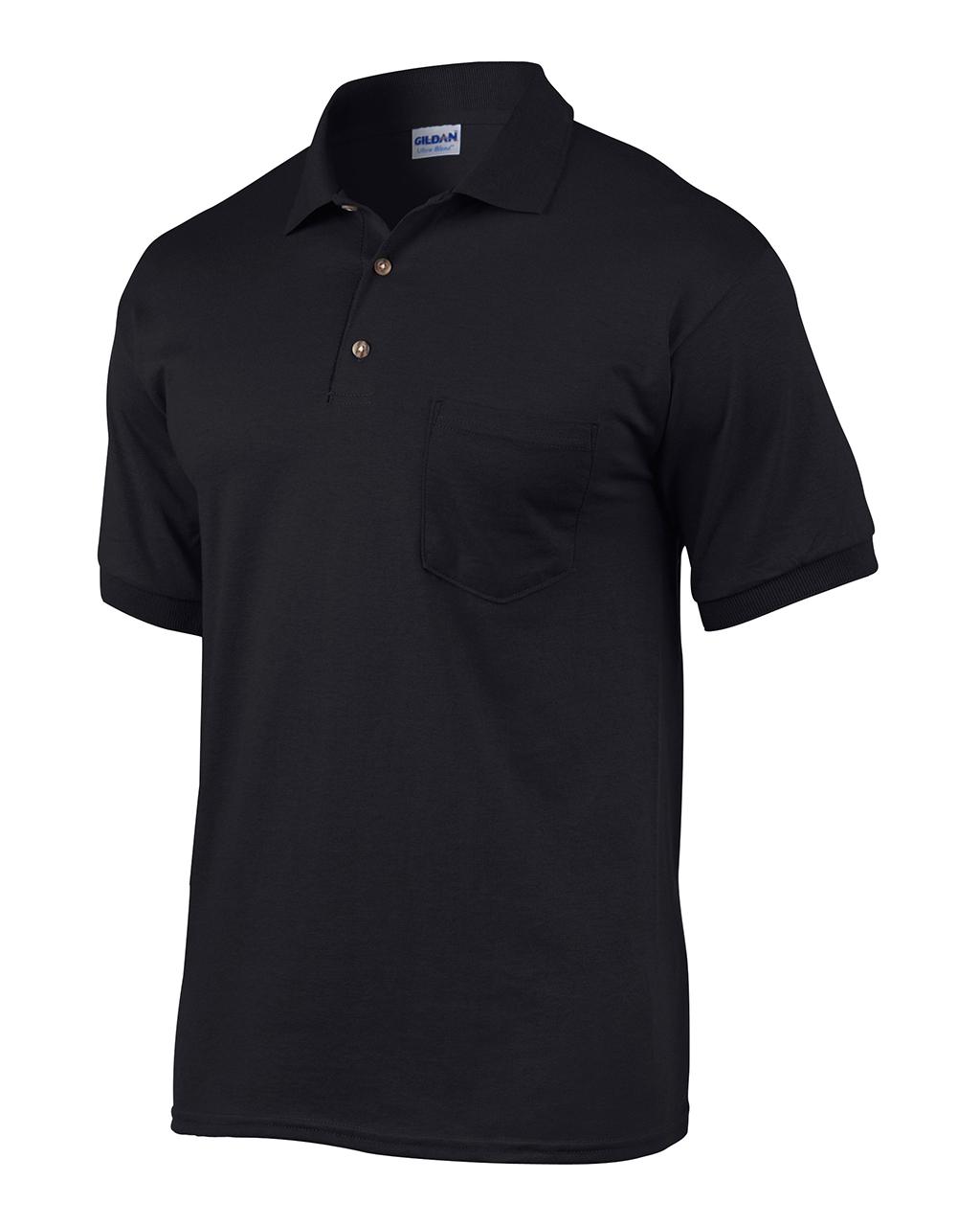 Picture of Gildan Ultra Blend 50/50 Pocketed Jersey Sport Shirt