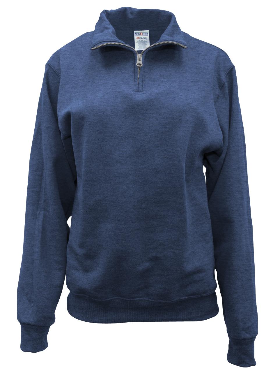 Picture of CLEARANCE Quarter-Zip Cadet Collar Sweatshirt