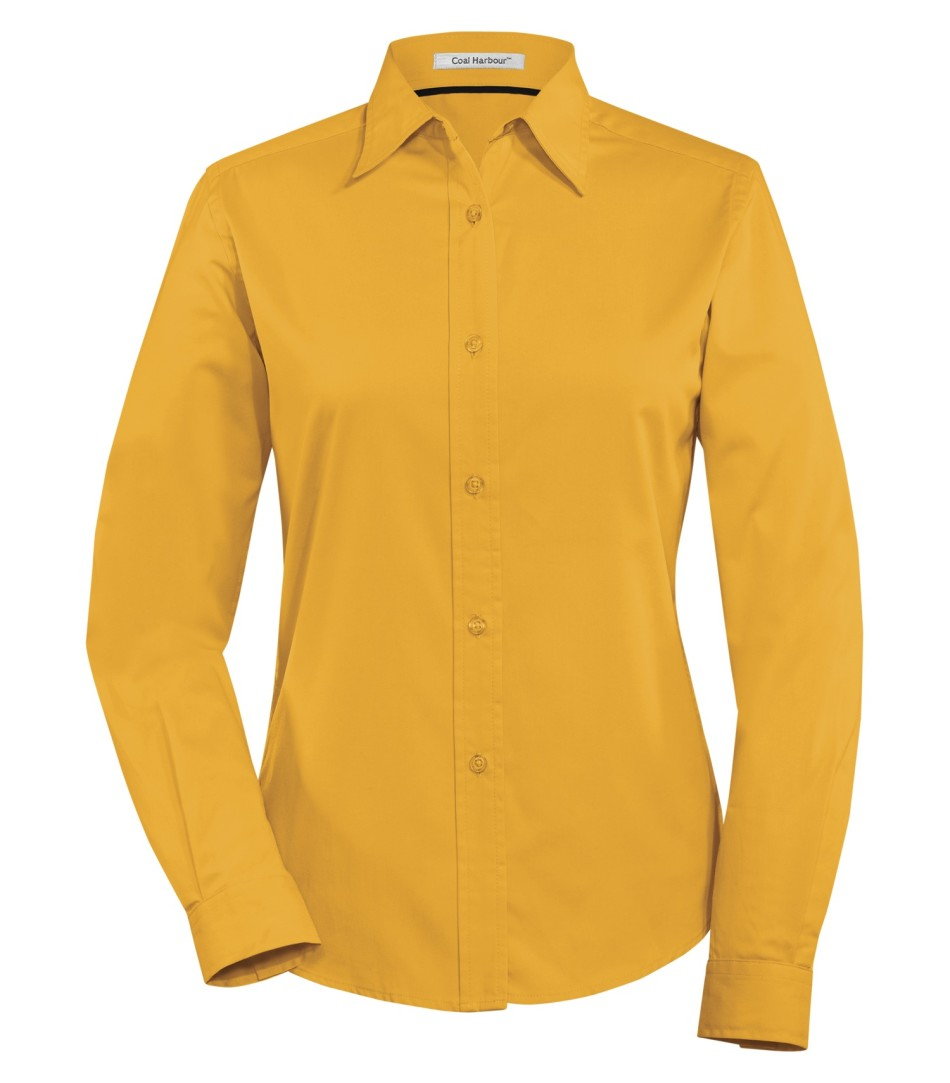 Picture of Coal Harbour Ladies Long Sleeve Easy Care Shirt