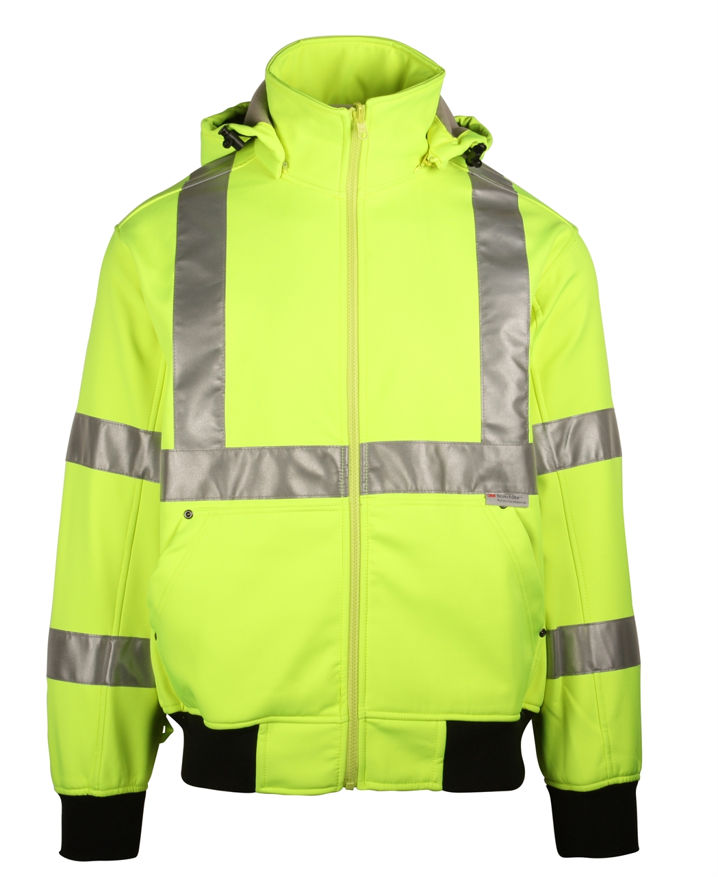 Picture of Sumaggo Hv Soft Shell Jacket With Detachable Hood
