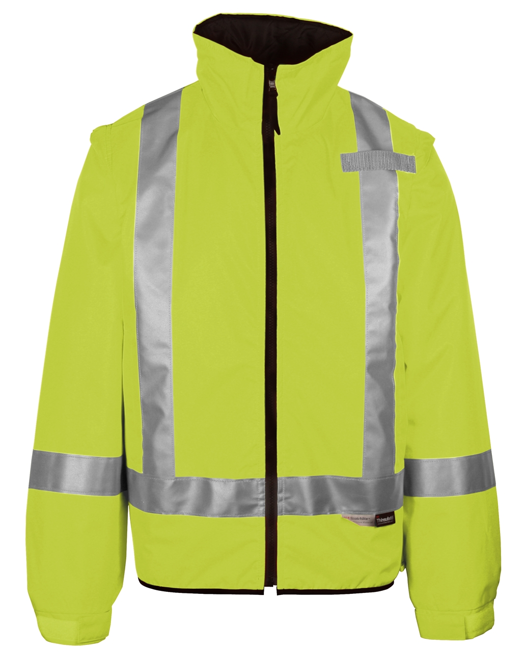 Picture of Sumaggo High Visibility 2-In-1 Thermal Jacket W/ Detachable Sleeves