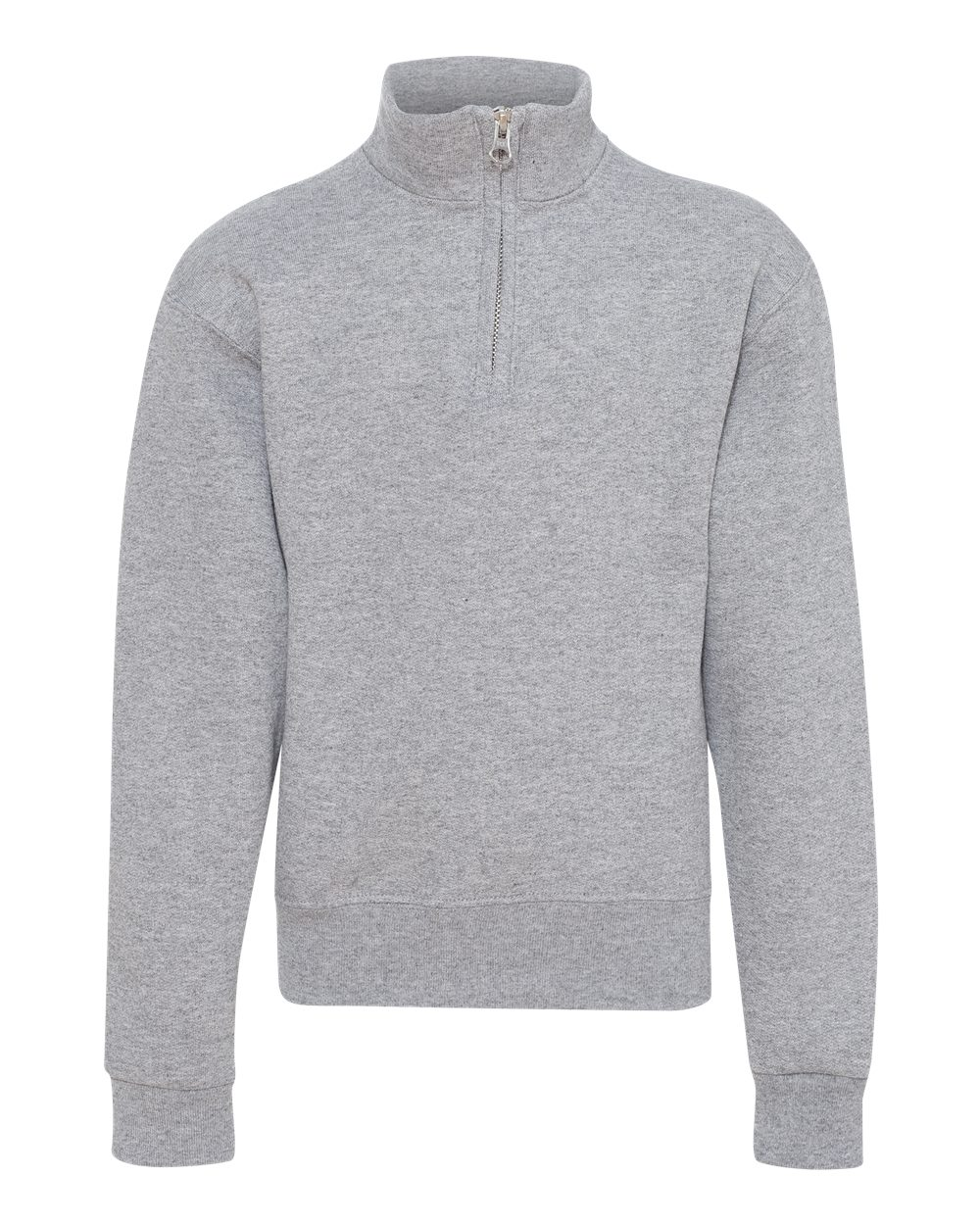 Picture of Jerzees Nublend Youth Quarter-Zip Cadet Collar Sweatshirt