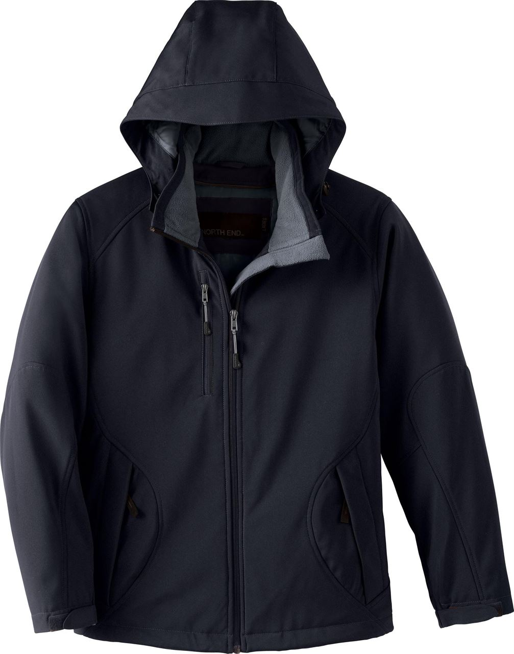 Picture of North End Glacier Ladies Insulated Soft Shell W/ Detach Hood