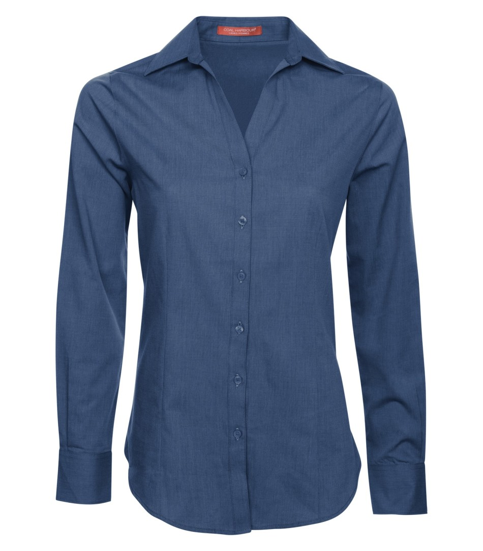Picture of Coal Harbour Textured Ladies' Woven Shirt