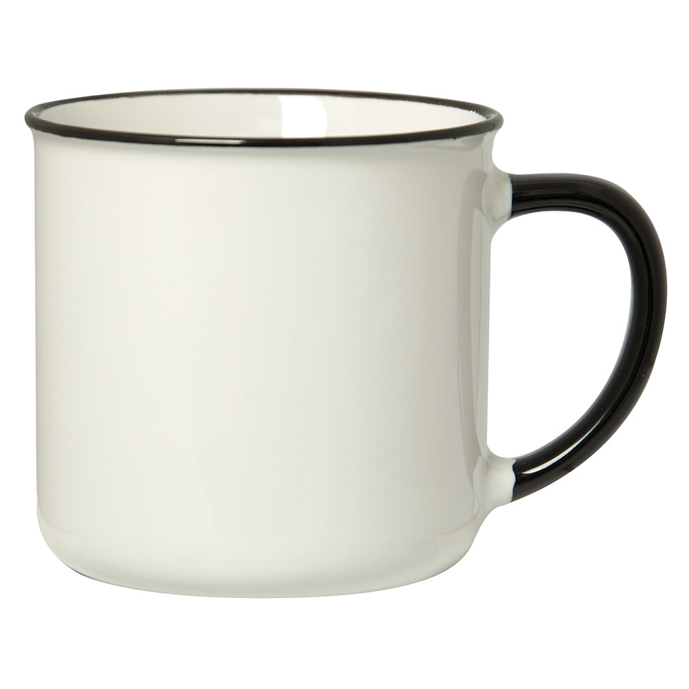 Picture of Spring 350 Ml. (12 Oz.) Mug With Coloured Rim/Handle