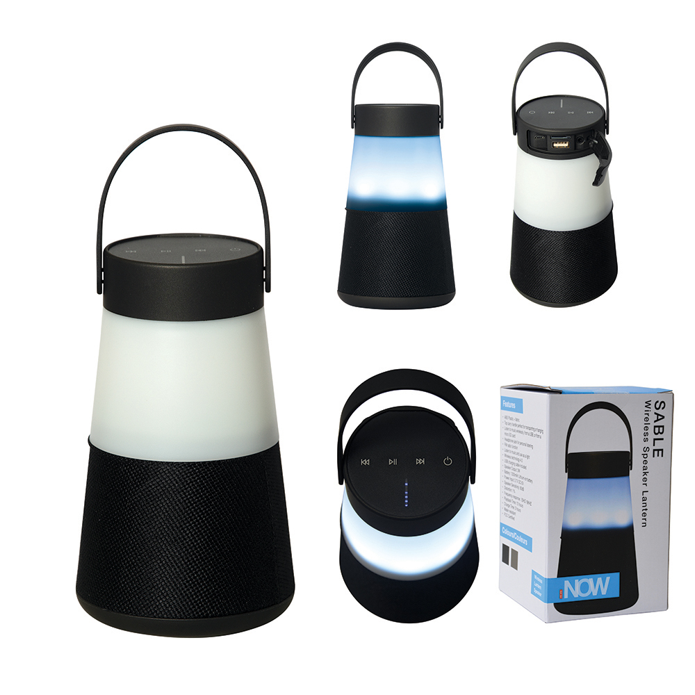 Picture of Sable Wireless Speaker Lantern