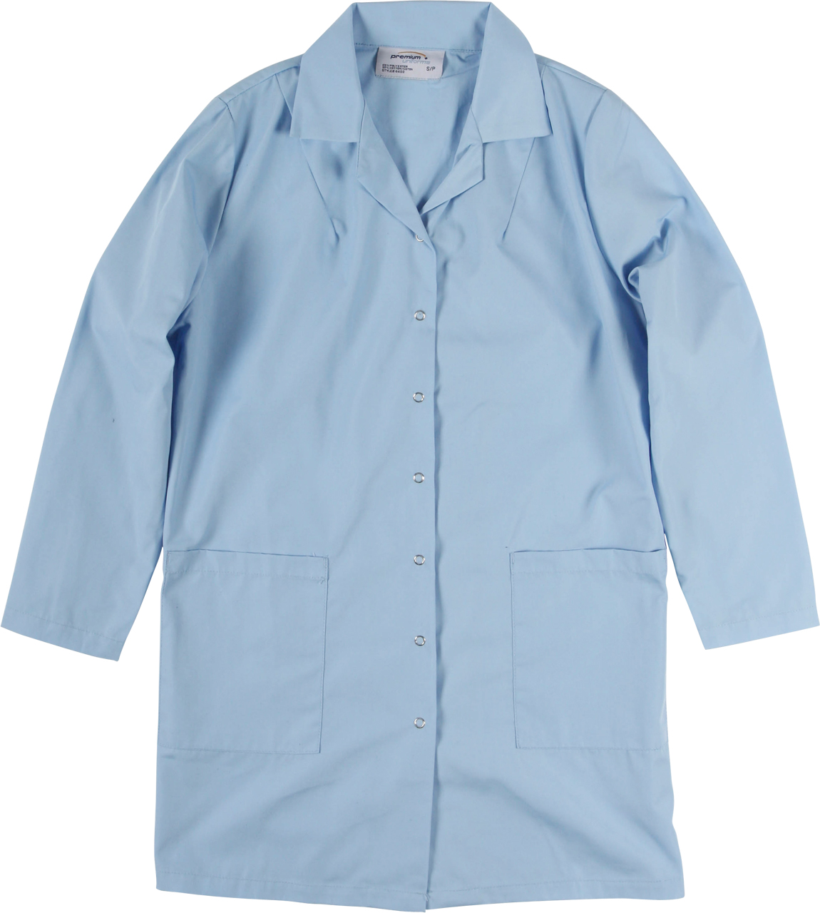 Picture of Premium Uniforms Long Sleeve With Snap Closure Smock