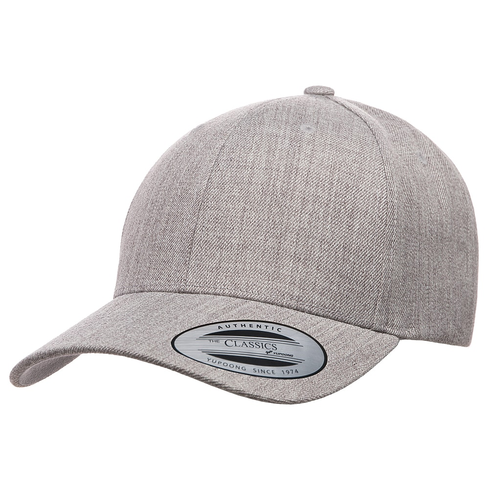 Picture of Yupoong Premium Curved Visor Snapback