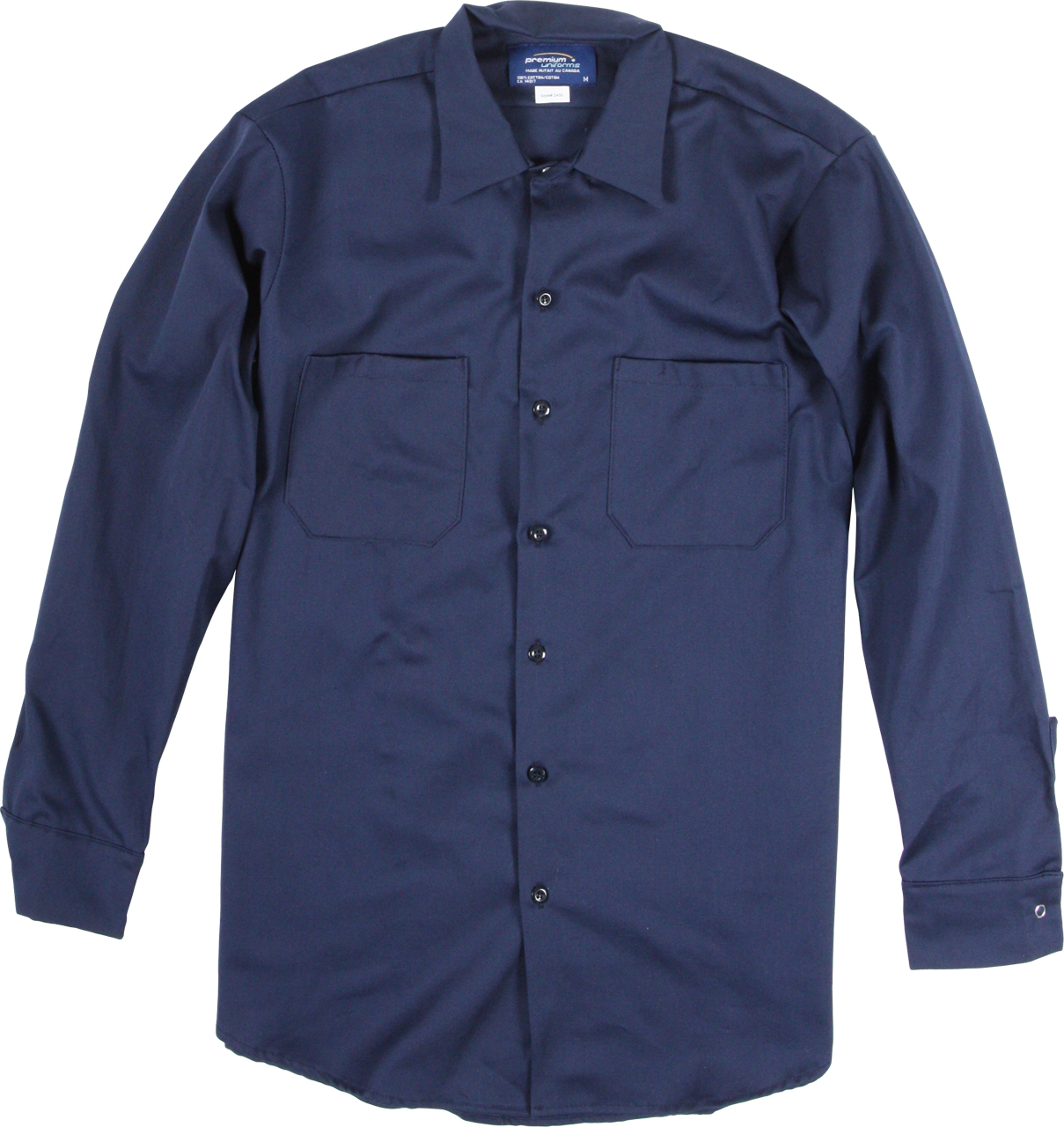 Picture of Premium Uniforms 100% Cotton Long Sleeve Work Shirt