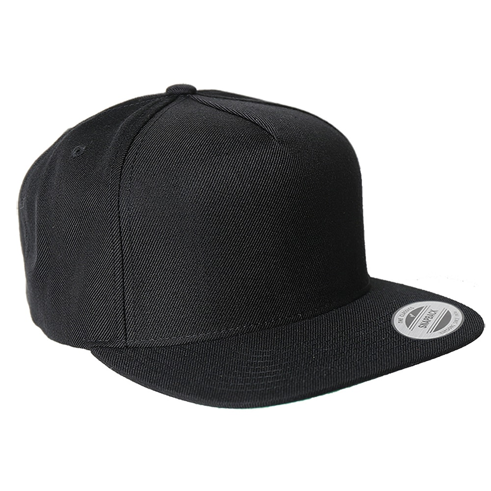 Picture of Yupoong Five-Panel Wool Blend Snapback