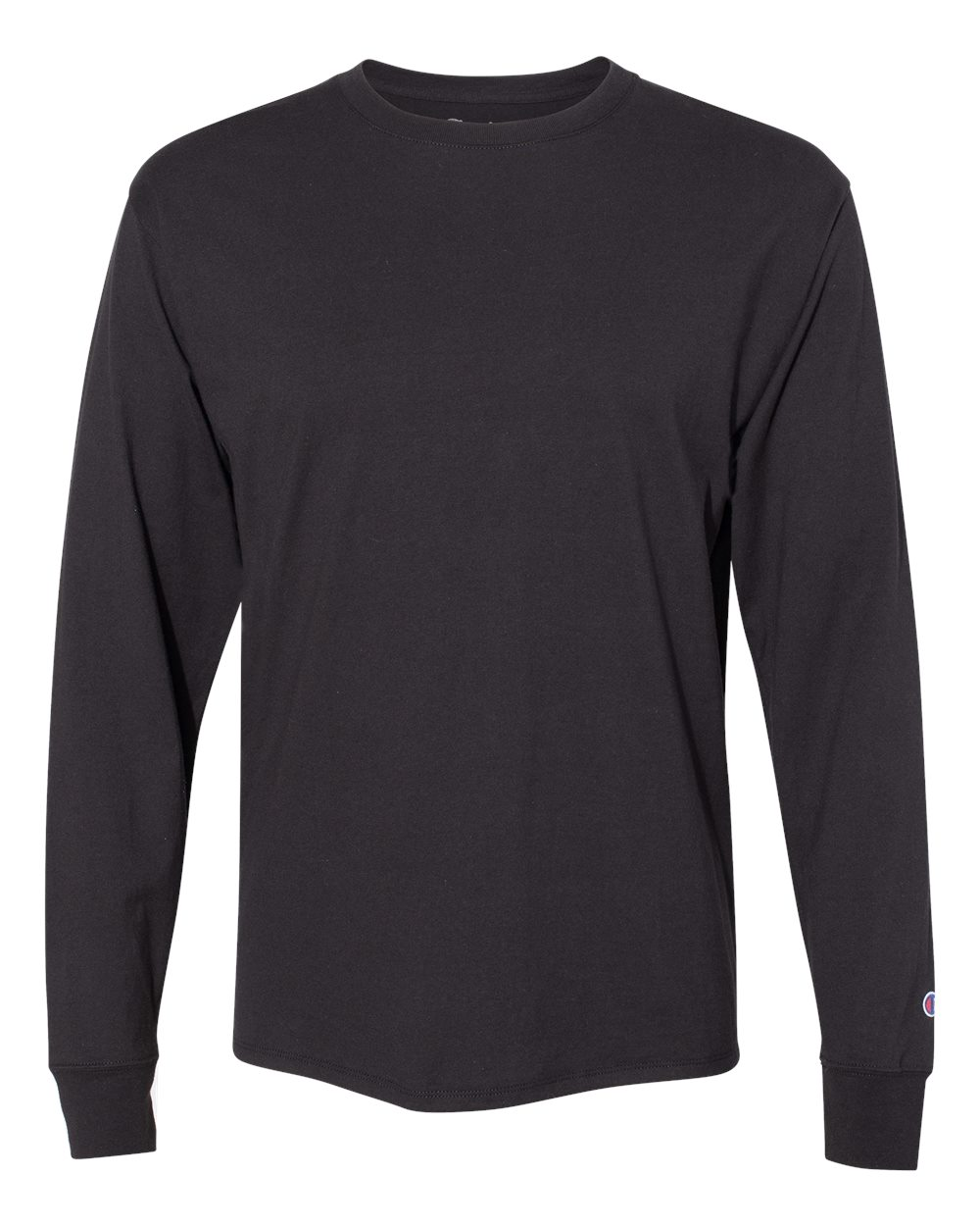Picture of CHAMPION Long-Sleeve Ringspun Cotton T-Shirt